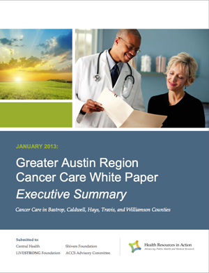 cancer care white paper cover