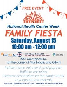 Family Fiesta Flyer in English
