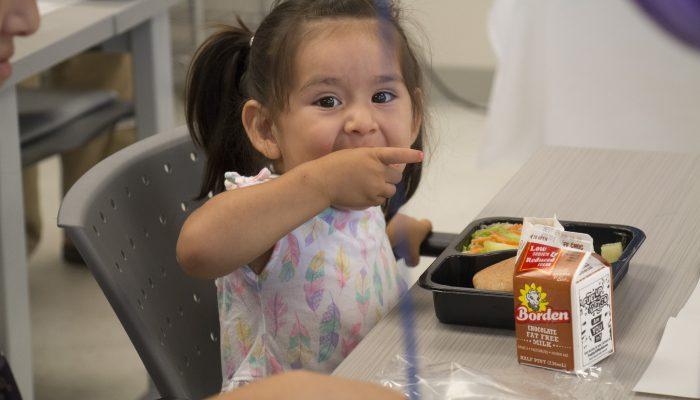 Hunger doesn't take a break: 2018 Summer Lunch Program