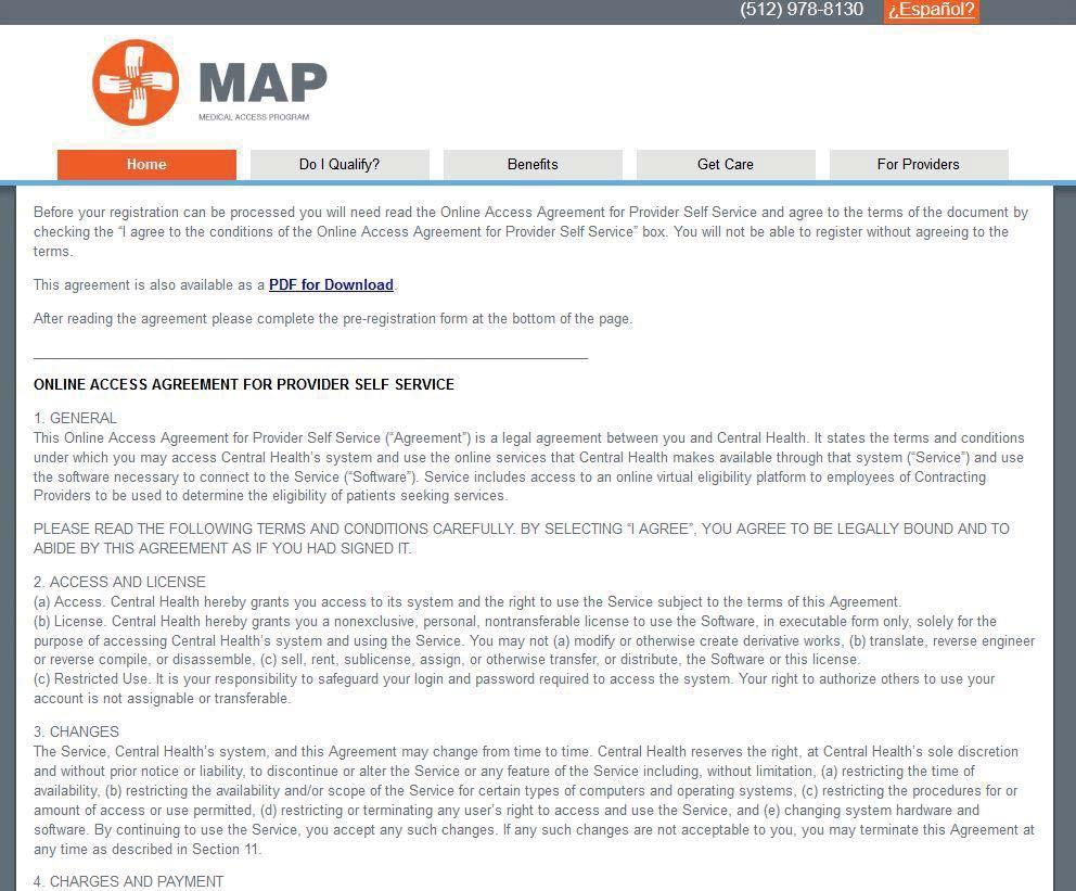 MAP-Provider-Handbook3 - Central Health on engineering terms, scientific terms, military terms,