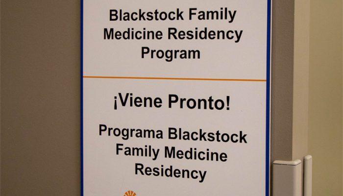Coming Soon! Blackstock Family Medicine Residency Program