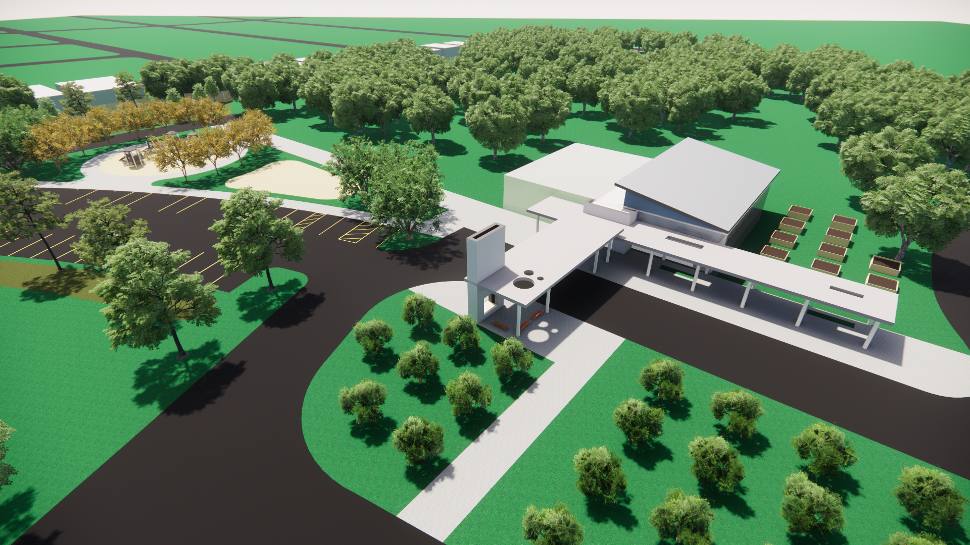 Hornsby Bend Health Center Concept